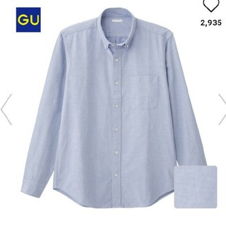 GU - 【新品タグ付き】ジーユー オックスフォードシャツ シャツ ブラウス トップス
