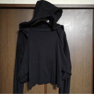 ディーゼル(DIESEL)のパーカー ブラック 変形タイプ モード系 Yohji Yamamoto Y's系(パーカー)