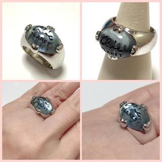 丸いフォルムの可愛いデザイン・シルバーリング(リング(指輪))