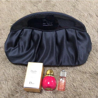 Christian Dior - クリスチャンディオール   マニキュア ミニ香水 ポーチセット