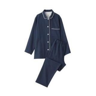 MUJI (無印良品) - 脇に縫い目のない フランネルパジャマ
