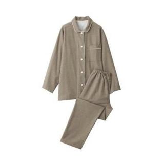 MUJI (無印良品) - 新品   無印良品  脇に縫い目のない フランネルパジャマ