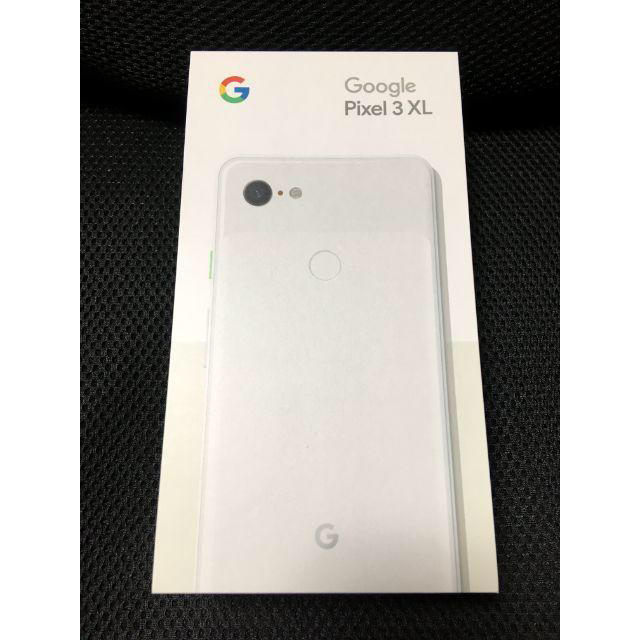 NTTdocomo(エヌティティドコモ)の【未開封】SIMフリー Google Pixel3 XL◆128GB/4GB◆白 スマホ/家電/カメラのスマートフォン/携帯電話(スマートフォン本体)の商品写真