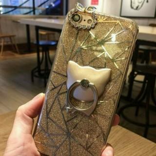 iPhone7 スマホケース 猫 スタンド付き