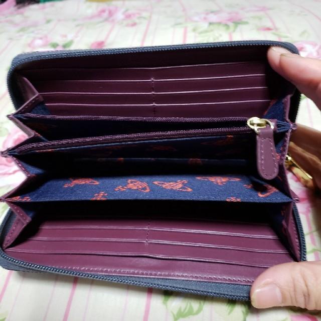 Vivienne Westwood(ヴィヴィアンウエストウッド)のVivienne Westwood.長財布 レディースのファッション小物(財布)の商品写真