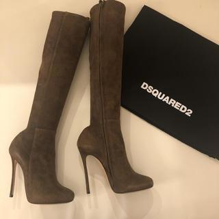 ディースクエアード(DSQUARED2)のロングブーツ 美脚 細身 定価24万(ブーツ)