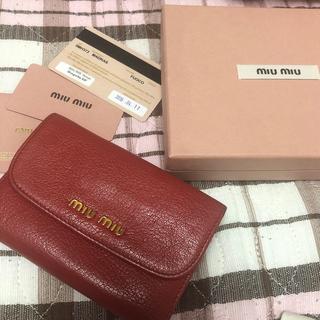 ミュウミュウ(miumiu)のmiumiu  財布(財布)