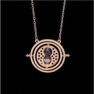 ハリーポッター レプリカ ペンダント&キーホルダー(ゴールドベース:グレイ)(ネックレス)