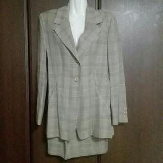 スーツ レディース 上下 9号 インポート MADE  IN  ITLY(スーツ)
