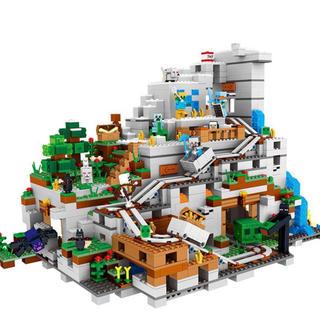Lego - マインクラフト レゴ互換 ブロック 山の洞窟
