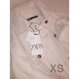 ザラ(ZARA)のZARA コーデュロイジャケット XS (値下げ可)(ミリタリージャケット)