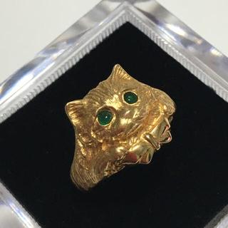 K18 猫 ネコ ねこ リング 13号(リング(指輪))