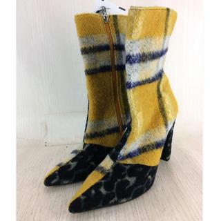イエローブーツ(Yellow boots)のYELLO/ 浜崎あゆみ着用 色違い!(ブーツ)