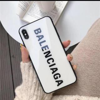 バレンシアガ(Balenciaga)のiPhone7/8対応ケース【ホワイト】(iPhoneケース)