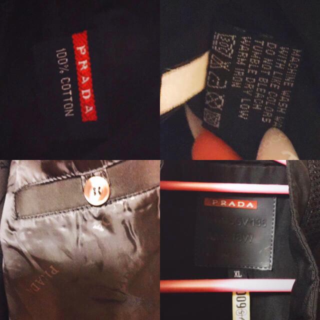 PRADA(プラダ)のPRADA メンズ アウター ジェンパー 本物 美品 お洒落 メンズのジャケット/アウター(ナイロンジャケット)の商品写真