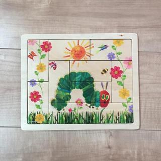 はらぺこあおむし 木製 パズル(知育玩具)