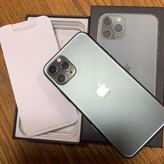Apple - 美品!ihone 11pro 64GB ミッドナイトグリーン