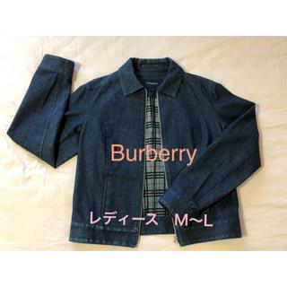 バーバリー(BURBERRY)のバーバリー ロンドン デニムジャケット ブルゾン サイズ【40】M〜L(Gジャン/デニムジャケット)