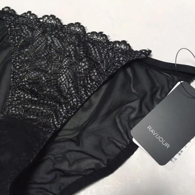Ravijour(ラヴィジュール)の新品 Ravijour ラヴィジュール ショーツ レース ブラック 黒 レディースの下着/アンダーウェア(ショーツ)の商品写真