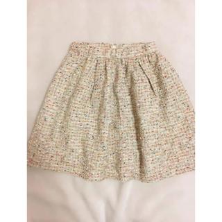 リランドチュール(Rirandture)の新品♡!ツイードスカート♡(*´꒳`*)♡(ミニスカート)