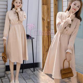 韓国 ファッション ワンピース(ロングワンピース/マキシワンピース)