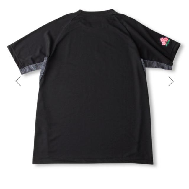 CANTERBURY(カンタベリー)のラグビー日本代表 着用モデル ワークアウトTシャツ 3L スポーツ/アウトドアのスポーツ/アウトドア その他(ラグビー)の商品写真
