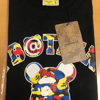 A BATHING APE - アベイシングエイプ Tシャツ Bape x bearbrick