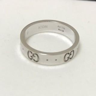 グッチ(Gucci)のGUCCI  K18 アイコンリング グッチ 750 ICON(リング(指輪))