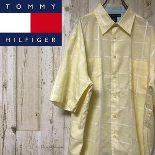 TOMMY HILFIGER - 【レア】トミーヒルフィガー☆ビッグシルエット 半袖シャツ #1291