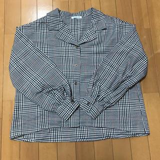 オリーブデオリーブ(OLIVEdesOLIVE)のチェックシャツ(シャツ/ブラウス(長袖/七分))