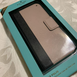 コーチ(COACH)の新品ケイトスペードiPhoneケース iPhoneX/XSケース スマホ手帳型(モバイルケース/カバー)