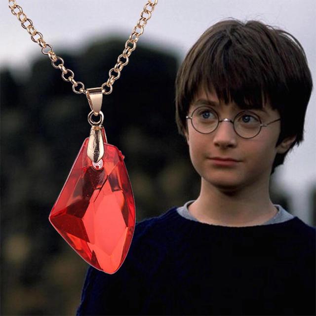 USJ(ユニバーサルスタジオジャパン)のHarry Potter ハリーポッター 賢者の石 ペンダント エンタメ/ホビーのDVD/ブルーレイ(外国映画)の商品写真