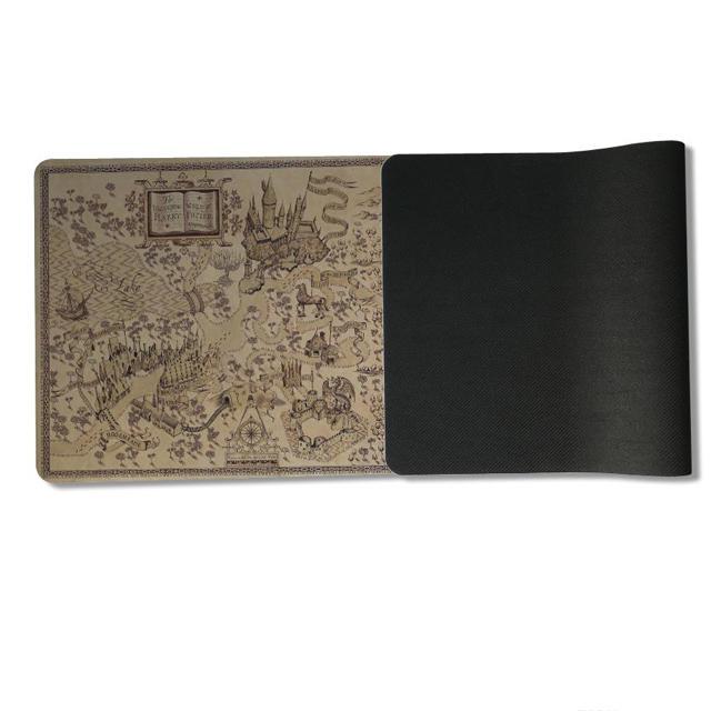 USJ(ユニバーサルスタジオジャパン)のHarry Potter 魔法界地図 マウスパッド エンタメ/ホビーのDVD/ブルーレイ(外国映画)の商品写真