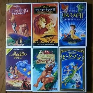 ディズニー(Disney)の【バラ売り可】VHSビデオテープ    ディズニー&ジブリ 計14本 (アニメ)