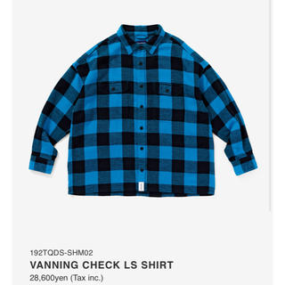 W)taps - DESCENDANT VANINGCHECK LS SHIRT 完売品 美品