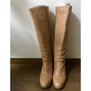 ツモリチサト(TSUMORI CHISATO)のTsumori chisato 牛革ロングブーツ(ブーツ)