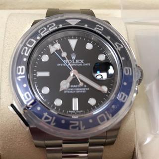 ROLEX - 未使用品 ロレックス ROLEX GMTマスターII 116710BLNR