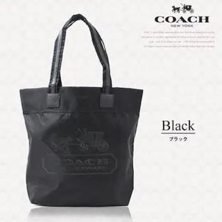 COACH - 【新品未使用】 COACH コーチ ナイロン×本革レザートート