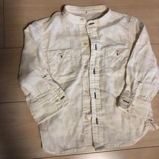 ムジルシリョウヒン(MUJI (無印良品))の無印良品 ガーゼシャツ サイズ100 (ブラウス)