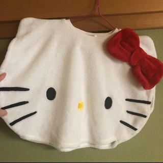 ハローキティ(ハローキティ)の【100】なりきり ダイカット キティ ベスト トップス ハロウィン(Tシャツ/カットソー)