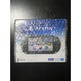 SONY PS Vita ブラック PCH-2000ZA11 新品