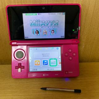 ニンテンドー3DS - 任天堂・3DS!ピンク!