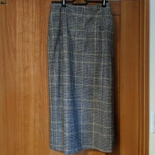 IENA SLOBE - SLOBE IENA チェック スカート ミモレ ロング