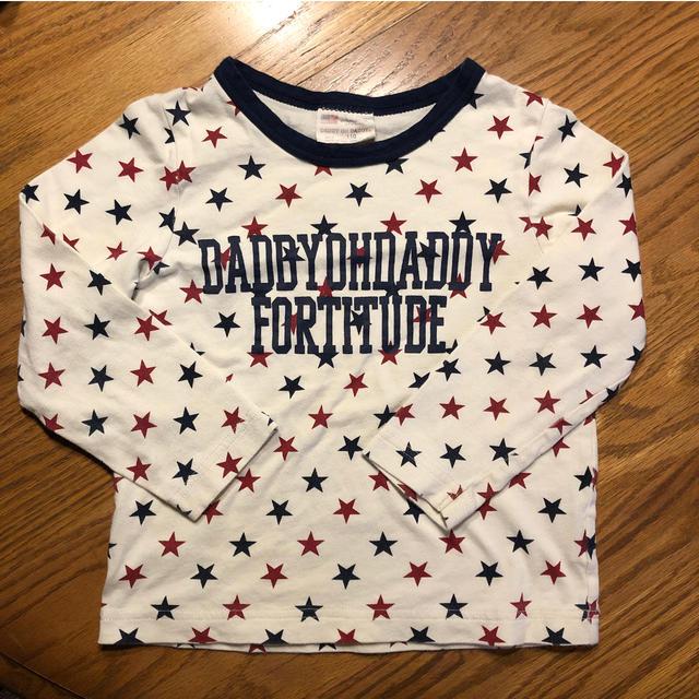 daddy oh daddy(ダディオーダディー)のダディオダディ 長袖Tシャツ 110 キッズ/ベビー/マタニティのキッズ服 男の子用(90cm~)(Tシャツ/カットソー)の商品写真