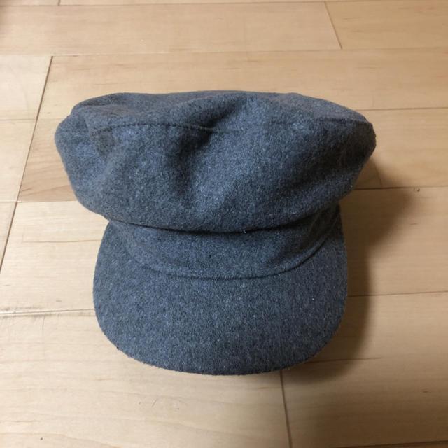 NICE CLAUP(ナイスクラップ)のNICE CLAUP シンプルナチュラルキャスケット レディースの帽子(キャスケット)の商品写真