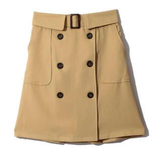 グレイル(GRL)のトレンチデザイン台形スカート(ミニスカート)