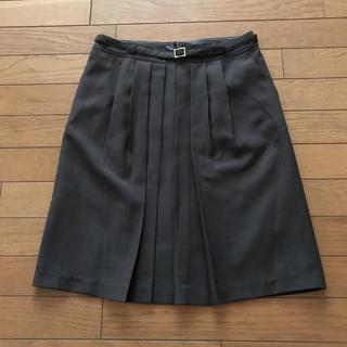 ビームス(BEAMS)の処分価格❗️ビームス ブラウン プリーツスカート  (ひざ丈スカート)
