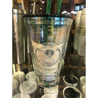 Starbucks Coffee - 韓国スタバ オーロラグラス コールドカップ 437ml