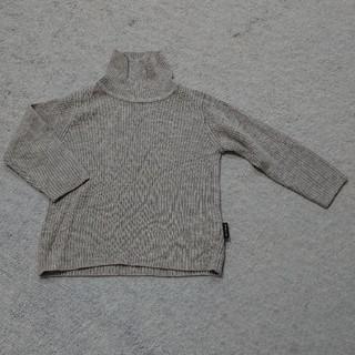 コムサイズム(COMME CA ISM)のハイネック長袖セーター 80(ニット/セーター)
