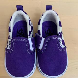 VANS - vans  ベビー靴未使用 13